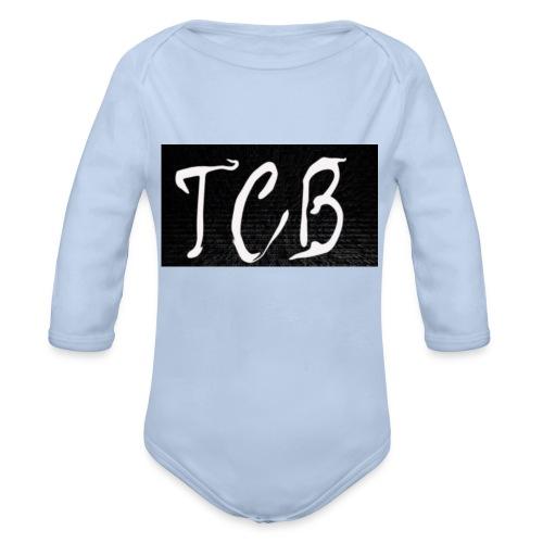 The Crazy Bros flag - Organic Long Sleeve Baby Bodysuit