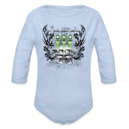 See Hear Speak no Evil - Organic Long Sleeve Baby Bodysuit
