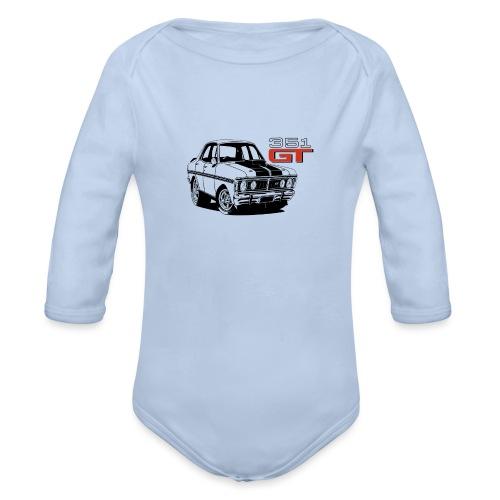 toon xy gt - Organic Long Sleeve Baby Bodysuit