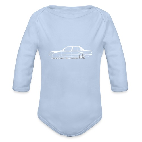Vb Commodore 1 - Organic Long Sleeve Baby Bodysuit