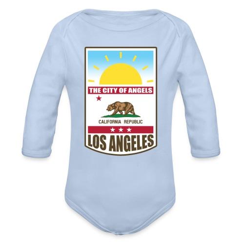 Los Angeles - California Republic - Organic Long Sleeve Baby Bodysuit