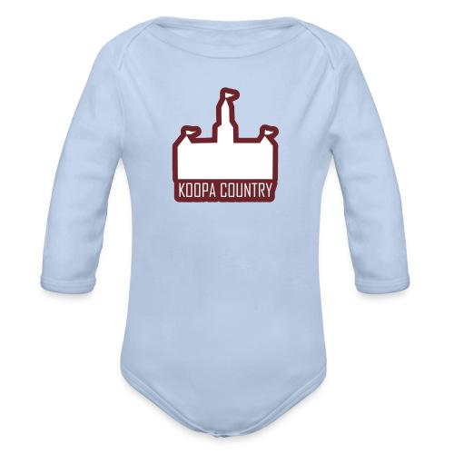 Koopa Country - Organic Long Sleeve Baby Bodysuit