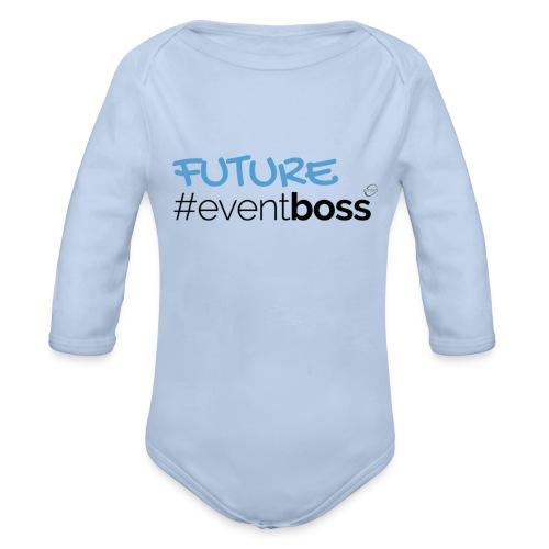 Future Event Boss - Organic Long Sleeve Baby Bodysuit