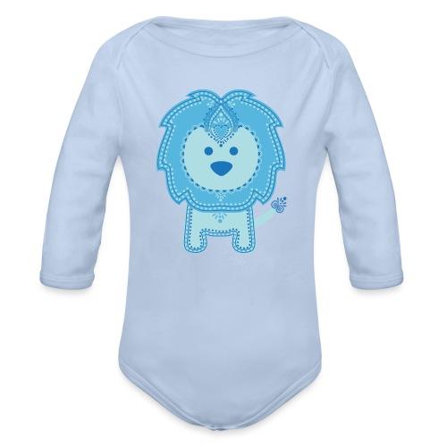 Baby Lion - Organic Long Sleeve Baby Bodysuit
