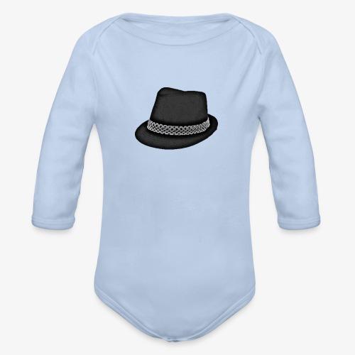Bam FIlmz Logo - Organic Long Sleeve Baby Bodysuit