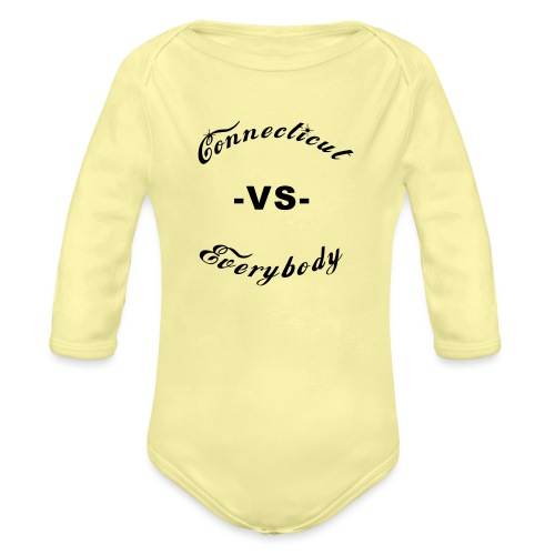 cutboy - Organic Long Sleeve Baby Bodysuit
