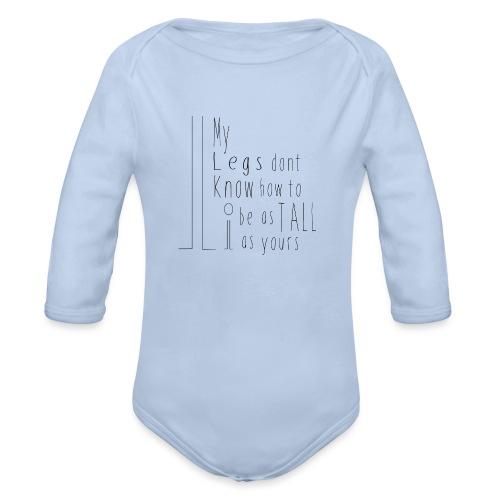 My-Legs - Organic Long Sleeve Baby Bodysuit