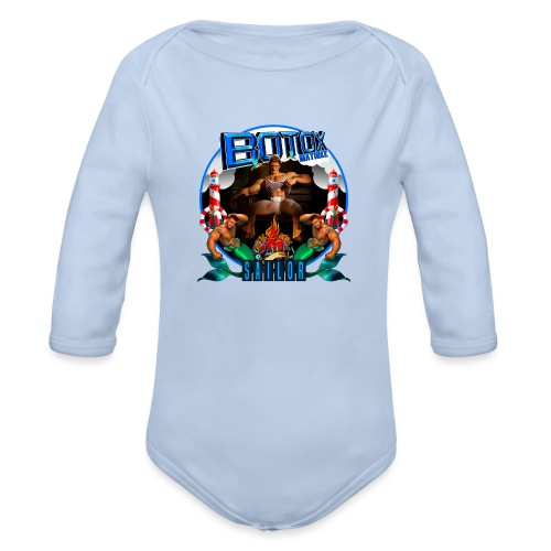 BOTOX MATINEE SAILOR T-SHIRT - Organic Long Sleeve Baby Bodysuit