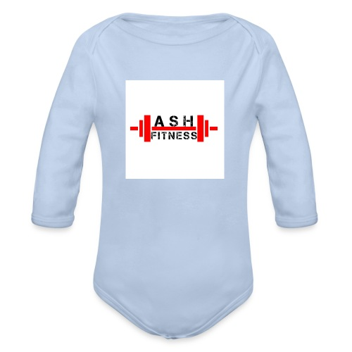 ASH FITNESS MUSCLE ACCESSORIES - Organic Long Sleeve Baby Bodysuit