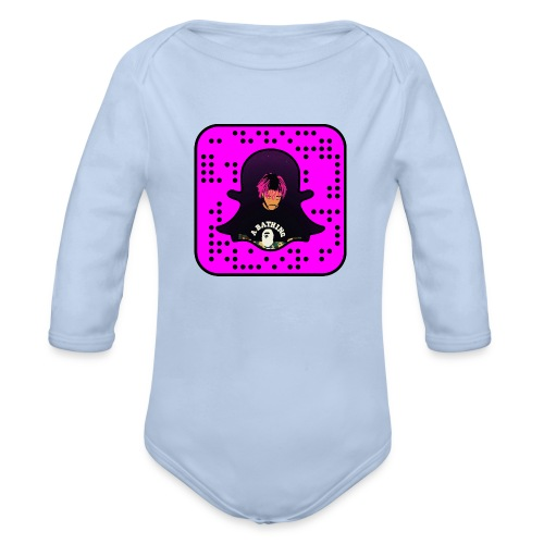 snapcode UZI - Organic Long Sleeve Baby Bodysuit