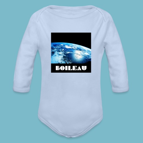 13 - Organic Long Sleeve Baby Bodysuit