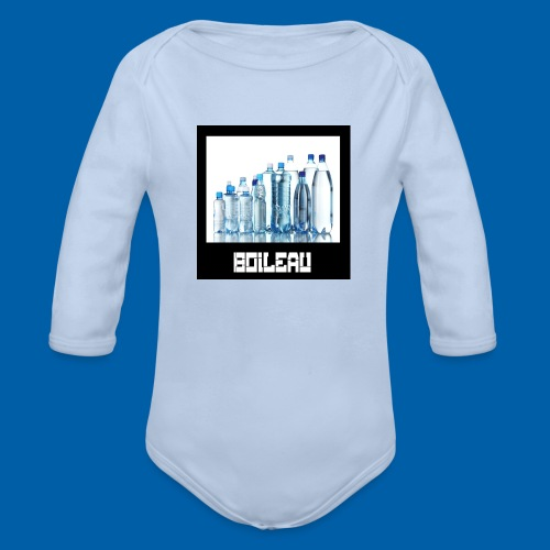 ddf9 - Organic Long Sleeve Baby Bodysuit