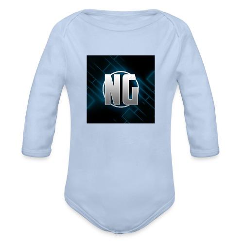 NadhirGamer Merch - Organic Long Sleeve Baby Bodysuit