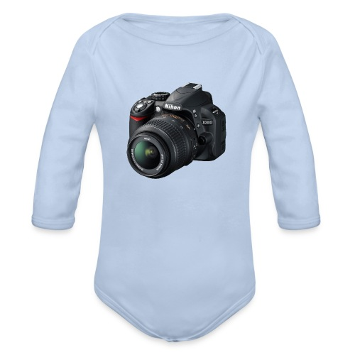 photographer - Organic Long Sleeve Baby Bodysuit