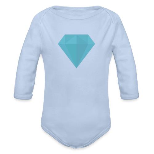 Girls dress - Organic Long Sleeve Baby Bodysuit