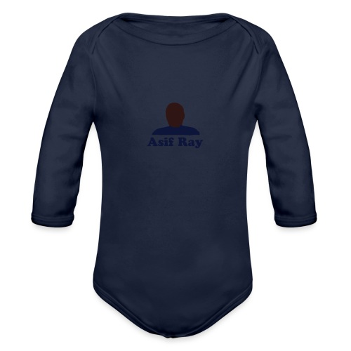 lit 55 - Organic Long Sleeve Baby Bodysuit