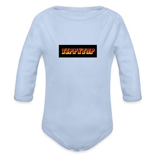 clothing brand logo - Organic Long Sleeve Baby Bodysuit