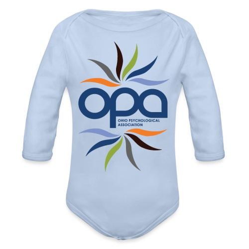 OPA Water Bottle - Organic Long Sleeve Baby Bodysuit