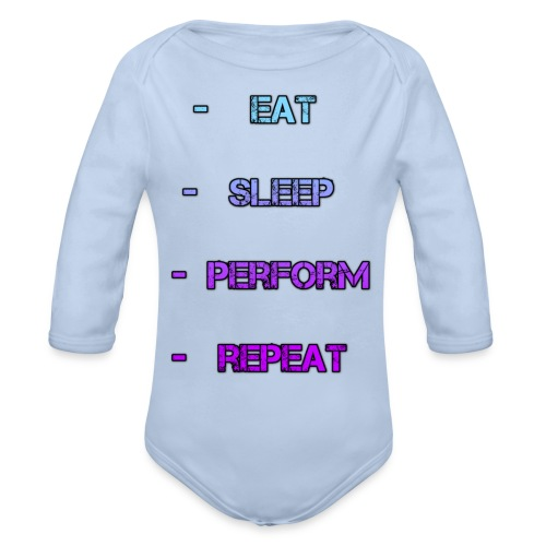 littlelaurzs productions T-shirt - Organic Long Sleeve Baby Bodysuit