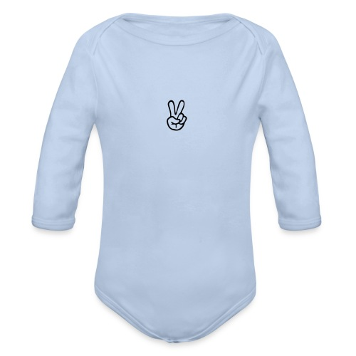 Peace J - Organic Long Sleeve Baby Bodysuit