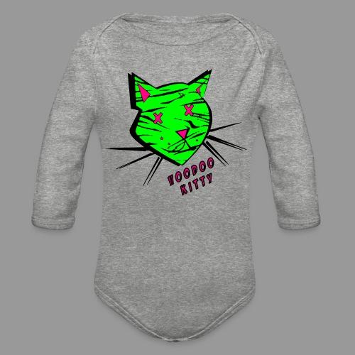 Voodoo Kitty - Organic Long Sleeve Baby Bodysuit