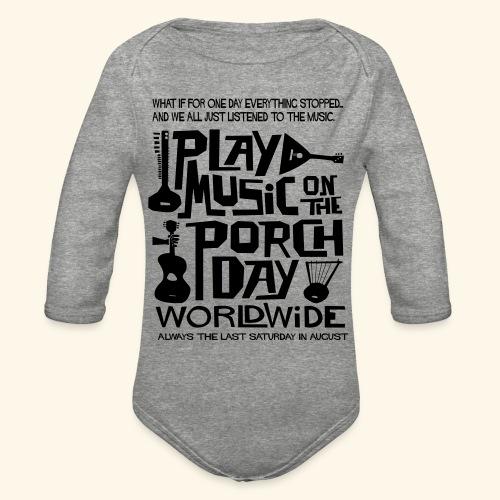 PMOTPD2021 SHIRT - Organic Long Sleeve Baby Bodysuit