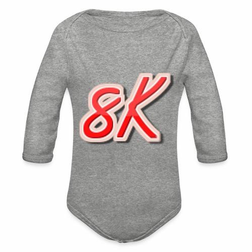 8K - Organic Long Sleeve Baby Bodysuit