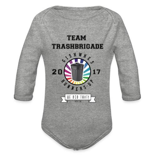 TrashBrigade 2017 - Organic Long Sleeve Baby Bodysuit