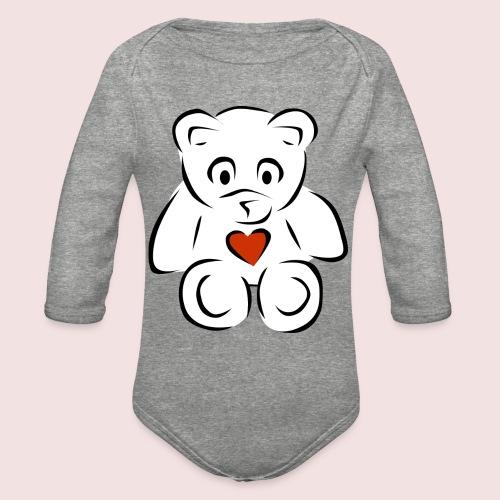 Sweethear - Organic Long Sleeve Baby Bodysuit