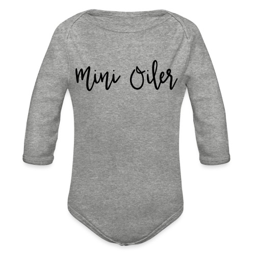 MiniOilerShirt - Organic Long Sleeve Baby Bodysuit
