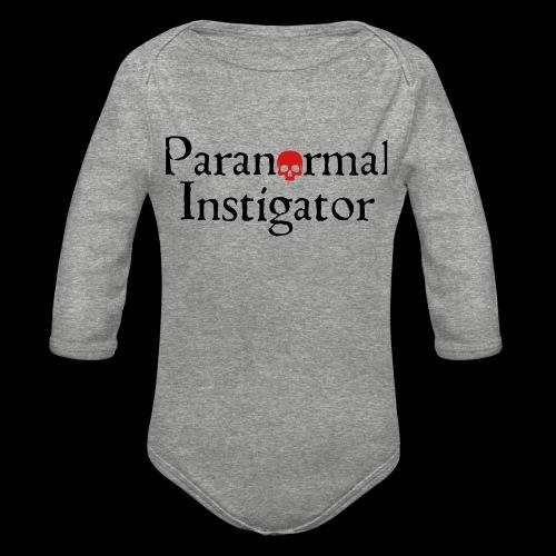 Paranormal Instigator - Organic Long Sleeve Baby Bodysuit