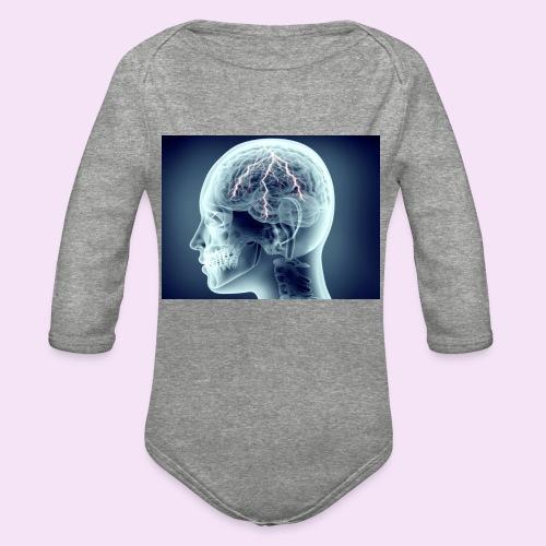 Recharge - Organic Long Sleeve Baby Bodysuit