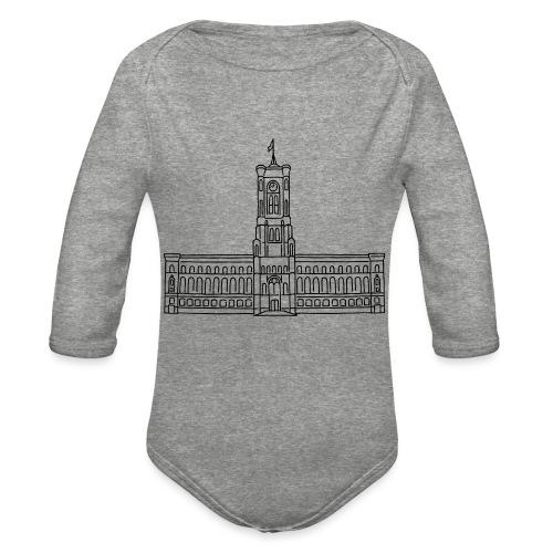 Red City Hall Berlin - Organic Long Sleeve Baby Bodysuit