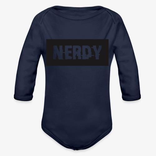 NerdyMerch - Organic Long Sleeve Baby Bodysuit
