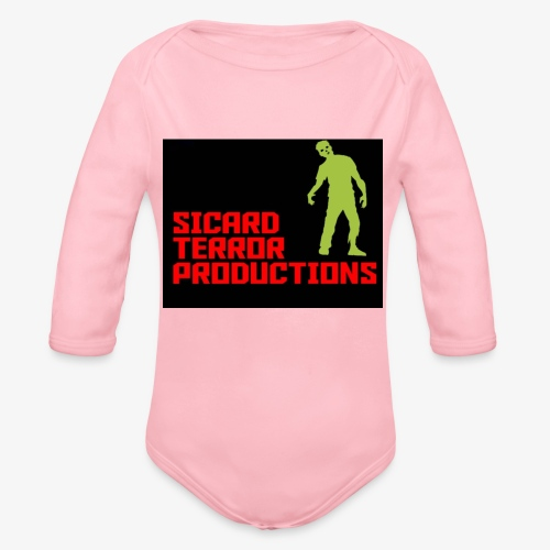 Sicard Terror Productions Merchandise - Organic Long Sleeve Baby Bodysuit