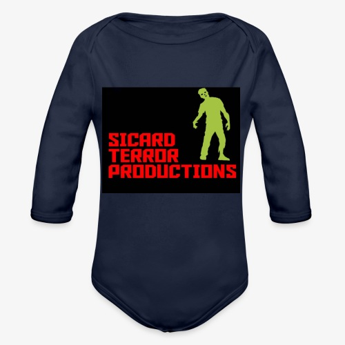 Sicard Terror Productions Merchandise - Organic Long Sleeve Baby Bodysuit