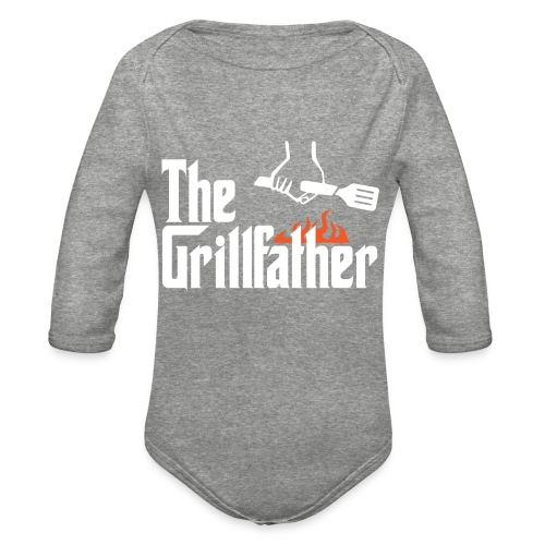 The Grillfather - Organic Long Sleeve Baby Bodysuit