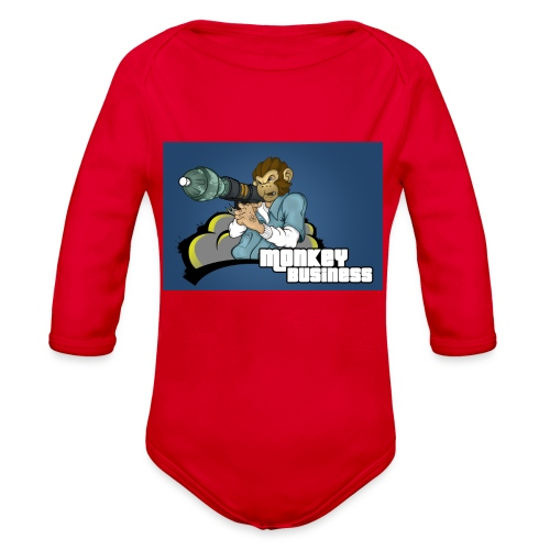 MonkeyBuisness - Organic Long Sleeve Baby Bodysuit