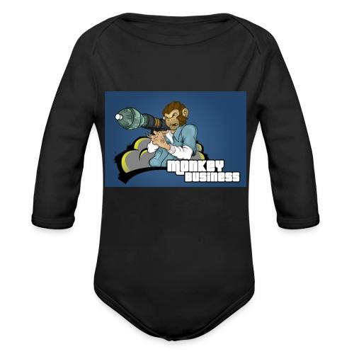 MonkeyBuisness - Organic Long Sleeve Baby Bodysuit