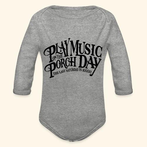 shirt4 FINAL - Organic Long Sleeve Baby Bodysuit