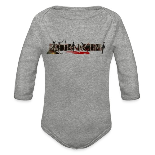 EoW Battleground - Organic Long Sleeve Baby Bodysuit