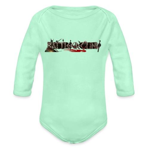 EoW Battleground - Organic Long Sleeve Baby Bodysuit