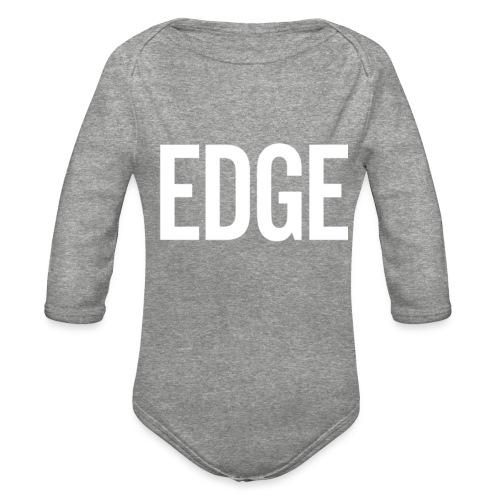 EDGE - Organic Long Sleeve Baby Bodysuit