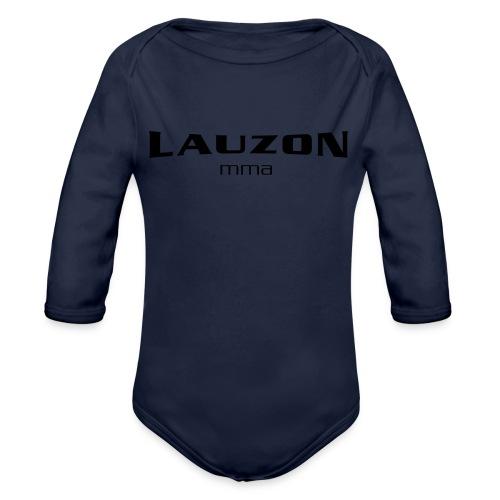 lauzonmma logo svg - Organic Long Sleeve Baby Bodysuit