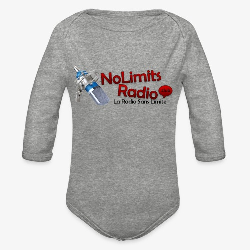 NolimitRadio - Organic Long Sleeve Baby Bodysuit