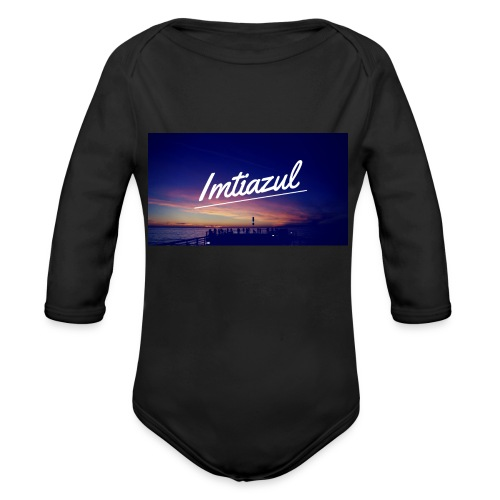 Copy of imtiazul - Organic Long Sleeve Baby Bodysuit