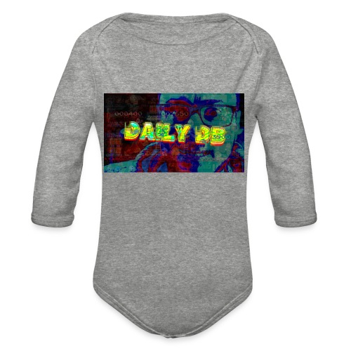 The DailyDB - Organic Long Sleeve Baby Bodysuit