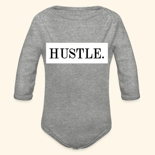 Hustle - Organic Long Sleeve Baby Bodysuit