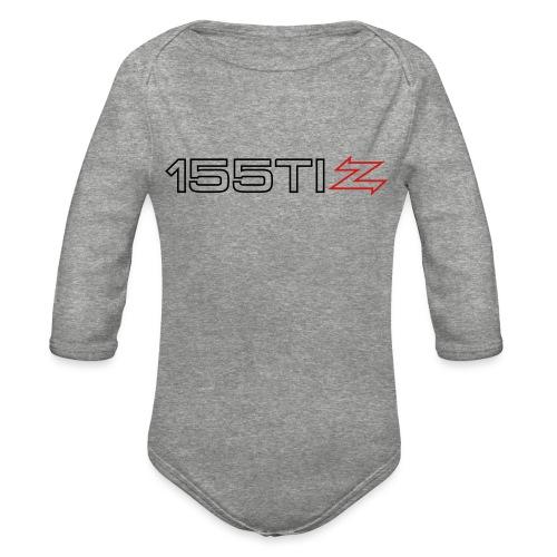 155 TI Zagato - Organic Long Sleeve Baby Bodysuit