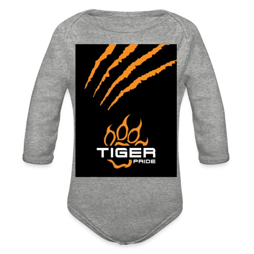 Tiger Pride iPad Case - Organic Long Sleeve Baby Bodysuit